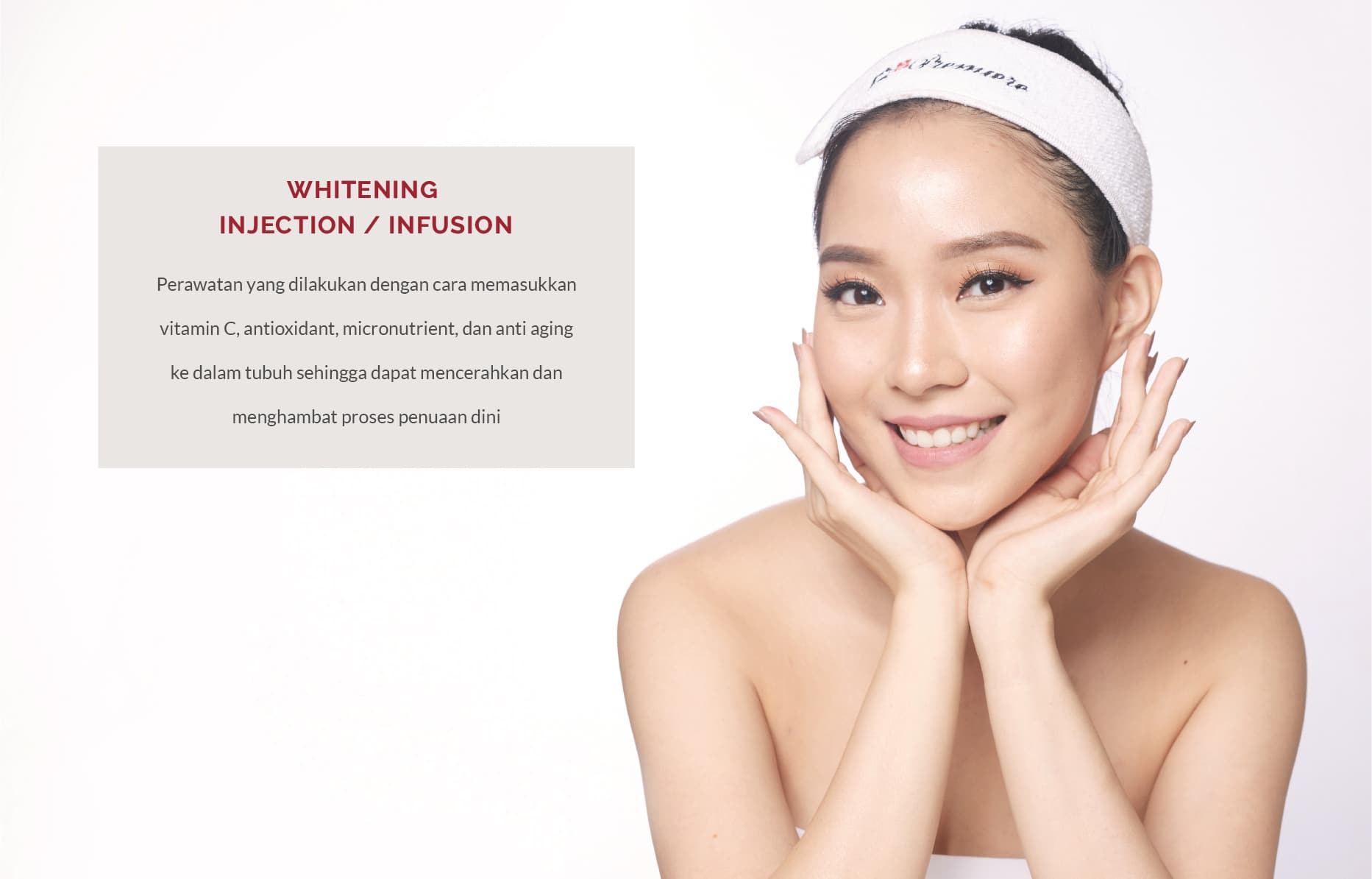 whitening injection infusion