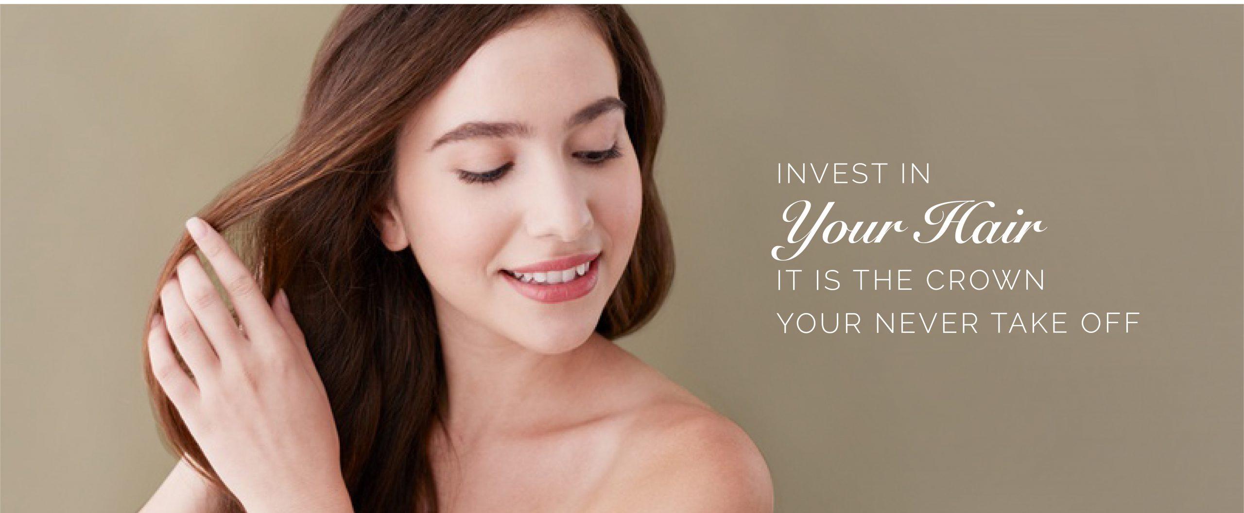 hair treatment banner